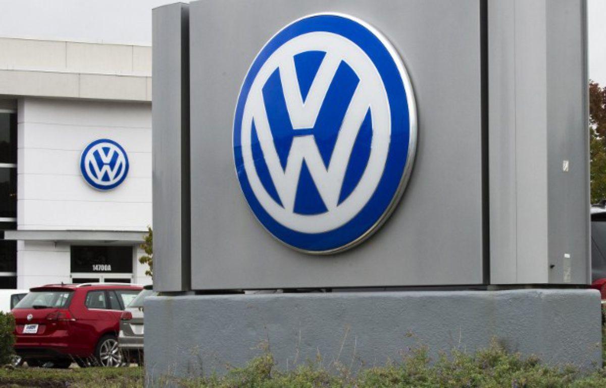 Le logo de Volkswagen  – PAUL J. RICHARDS / AFP