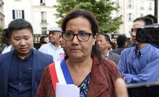 Meriem Derkaoui, la maire sortante d'Aubervilliers, a été battue par la candidate de l'UDI, Karine Franclet
