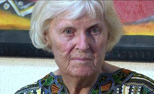 Capture d'écran faite le 7 février 2016 montrant l'ex-otage australienne Jocelyn Elliott, à Dosso, au sud-ouest du Niger, après sa libération