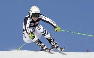 L'Allemande Viktoria Rebensburg a remporté vendredi le premier slalom géant d'Ofterschwang, sa 5e victoire en Coupe du monde de ski alpin et la 2e cette saison qui lui permet de prendre la tête au classement de la discipline
