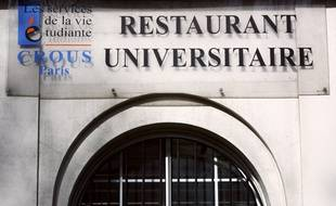 Un restaurant universitaire du Crous. (illustration)