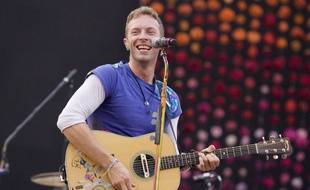 Chris Martin, le leader du groupe Coldplay