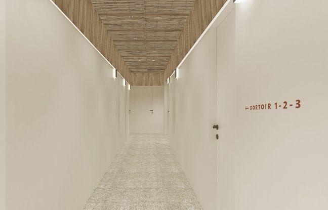 Les matériaux de qualité sont privilégiés pour la rénovation de l'immeuble de la place Saint-Projet.
