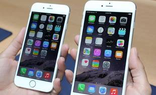 L'iPhone 6 et l'iPhone 6 Plus présentés par Apple le 9 septembre 2014.