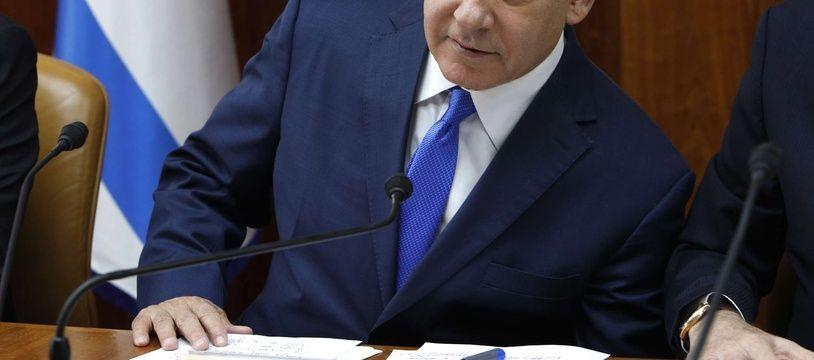 Le Premier ministre Benjamin Netanyahu à Jérusalem le 2 décembre 2018.