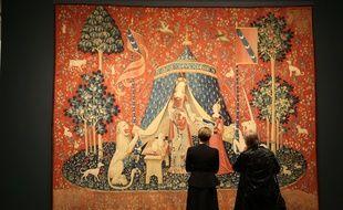 La tapisserie de La dame à la licorne, exposée en Australie en 2018