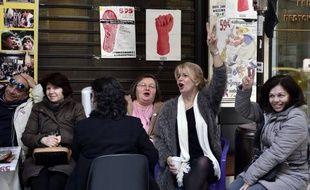 Des femmes de ménage licenciées devant le ministère des finances grec