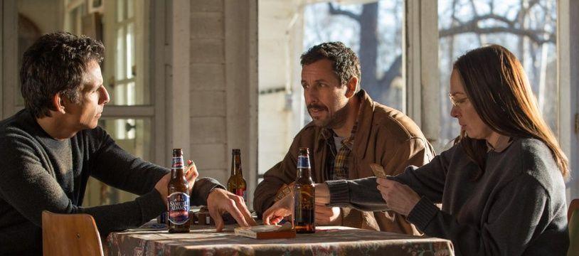 Ben Stiller, Adam Sandler et Elisabeth Marvel dans The Meyerowitz stories de Noah Baumbach