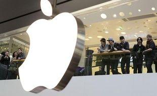 Ouverture de l'Apple Store de Lyon.