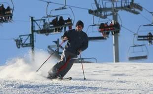 Illustration du ski dans les Pyrénées.