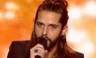 Gaël Lopes, candidat de «Rising Star» sur M6, le 16 octobre 2014.