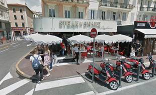 Le restaurant Steak'n Shake de Cannes