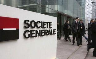 Le siège de la banque Société générale à La Défense en janvier 2008.