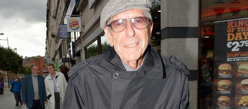 L'artiste disparu Leonard Cohen