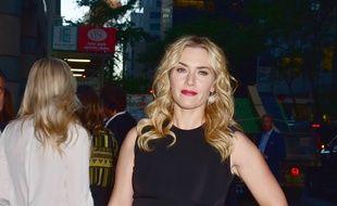 L'actrice Kate Winslet dans les rue de New York, en septembre 2016.