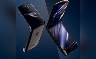 Le nouveau Motorola Razr reprend le design à clapet de son aîné grâce à un écran pliable.
