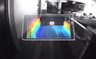 Le projet de tablette permettant de capturer des images en 3D imaginé par Google.