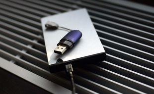 Une clé USB d'origine inconnue peut contenir des logiciels malveillants.