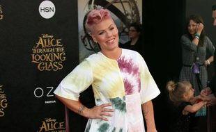 La chanteuse Pink