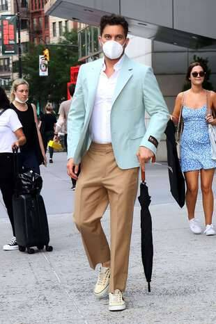 Joshua Jackson, le 14 juin, à New York.