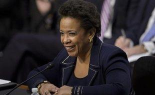La procureure fédérale américaine Loretta Lynch, le 28 janvier 2015