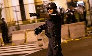 Un policier à Washington le 1er septembre 2020 (illustration).