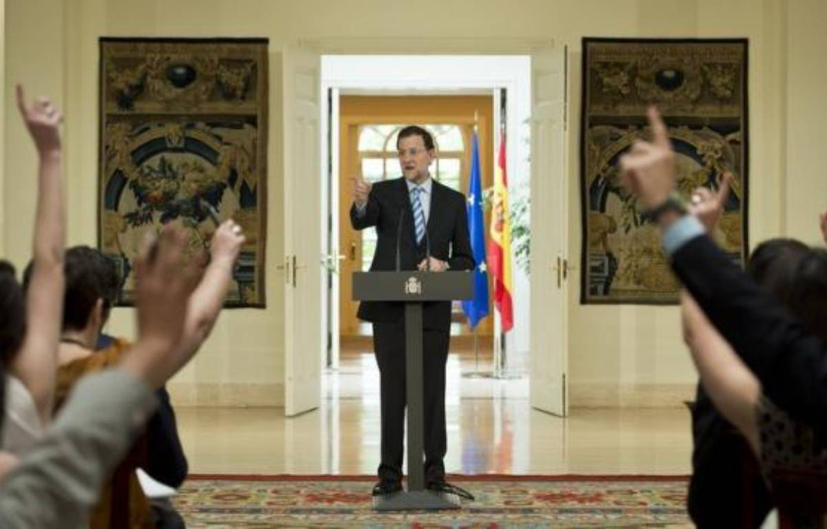 Jusqu'au bout, l'incertitude a régné: l'Espagne demanderait-elle, sous la pression, l'aide de la zone euro pour sauver ses banques? Et, surtout, à quelles conditions? Tractations, réunions secrètes et démentis officiels ont rythmé ce nouvel épisode de la crise. – Dani Pozo afp.com