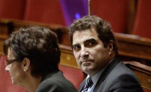 Le député UMP Christian Jacob à l'Assemblée nationale le 27 janvier 2015
