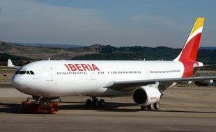 Un A 330 de la compagnie espagnole Iberia
