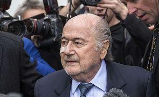 Le président suspendu de la Fifa, Sepp Blatter, le 21 décembre 2015.