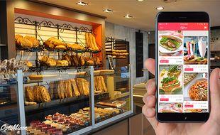 L'application mobile permet aux commerçants de vendre à prix réduits leur invendus.