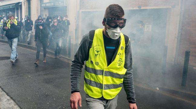 « Gilets jaunes » à Toulouse : Un anniversaire noyé sous les lacrymogènes et 23 interpellations - 20 Minutes