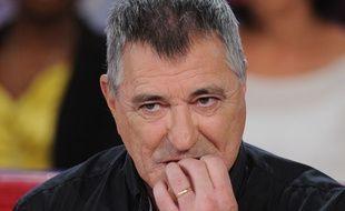 Jean Marie Bigard sur le plateau de «Vivement Dimanche», le 6 octobre 2015.  PJB/SIPA
