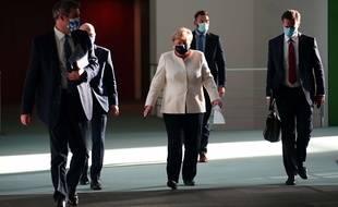 Angela Merkel, à Berlin le 29 septembre 2020.