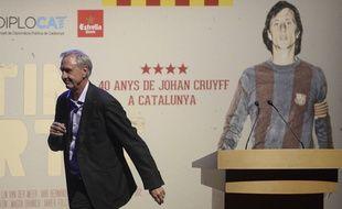 Johan Cruyff à Barcelone, en novembre 2014.