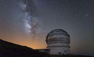 Le Gran Telescopio Canarias, aux Canaries en Espagne, a confirmé la masse du trou noir.