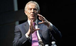 Tony Blair, l'ancien Premier ministre, à Copenhague le 22 juin 2018.