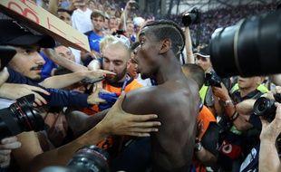 Paul Pogba le 7 juillet à Marseille