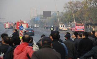 La police chinoise a arrêté vendredi un suspect qui aurait avoué être l'auteur de la série d'explosions qui ont fait un mort mercredi devant le siège du Parti communiste d'une ville du nord, quelques jours après un attentat perpétré au coeur de Pékin.