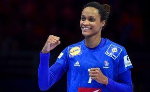 Allison Pineau est en équipe de France depuis 2007.