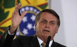 Le président brésilien Jair Bolsonaro, à Brasilia le 10 novembre 2020.