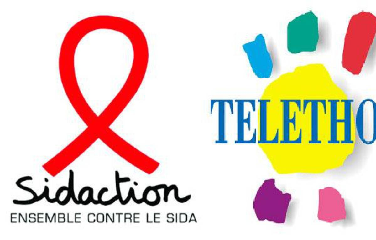 Le Téléthon vs Sidaction: deux évènements médiatiques pour deux grandes causes – DR