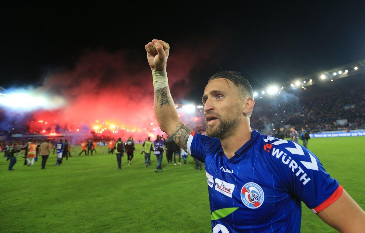 Foot RCS vs Bourg en Bresse. Strasbourg  le 19 mai 2017 – G. Varela / 20 Minutes
