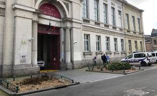 La cour d'Assises de Douai, dans le Nord.