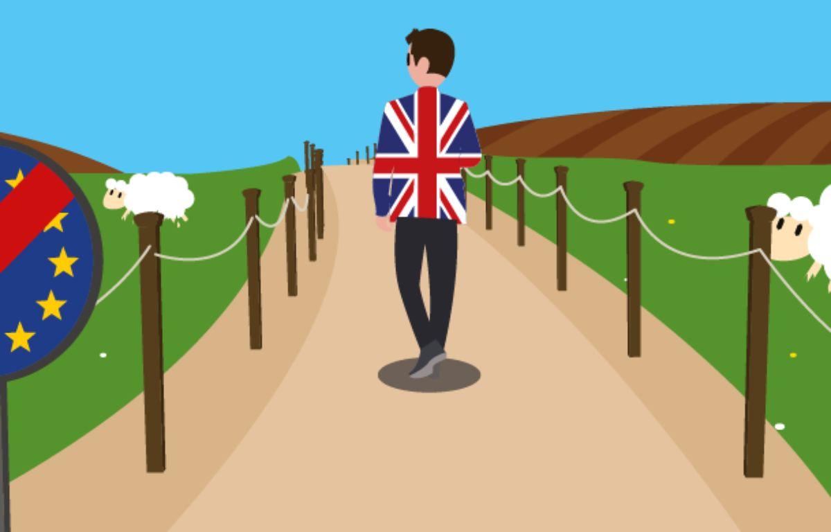 Illustration Négociations du Brexit – Jonas Nujaym