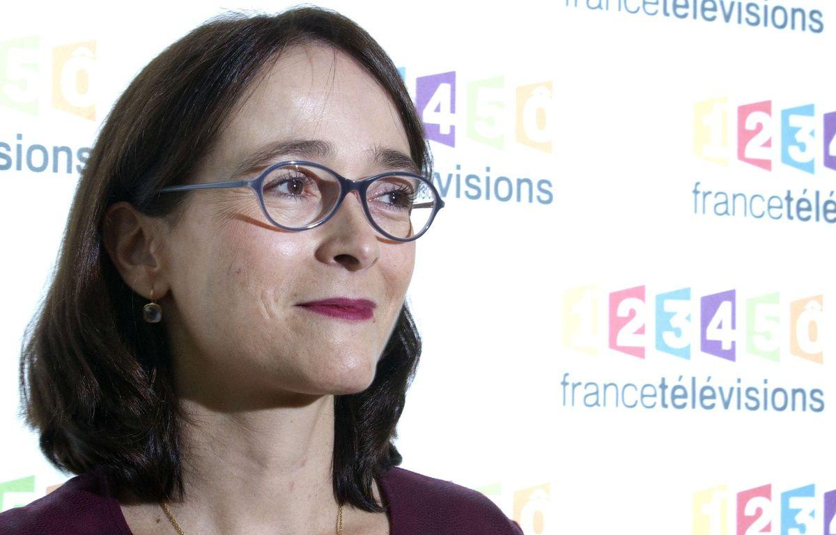 La présidente de France Télévision, Delphine Ernotte, le 4 novembre 2015 – Jacques Brinon/AP/SIPA