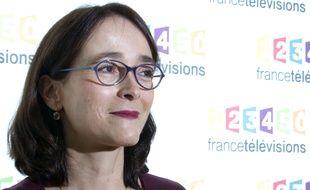 La présidente de France Télévision, Delphine Ernotte, le 4 novembre 2015