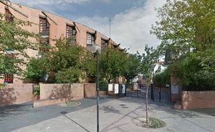 Vue Google Street View du collège Elsa Triolet de Saint-Denis.