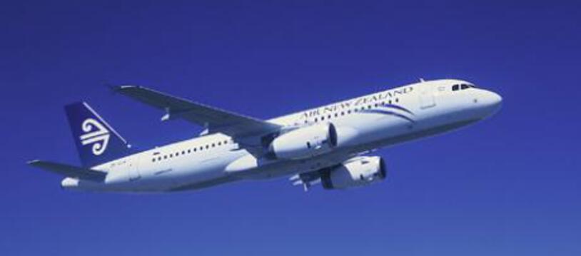 Un Airbus A320 de la compagnie Air New Zealand.