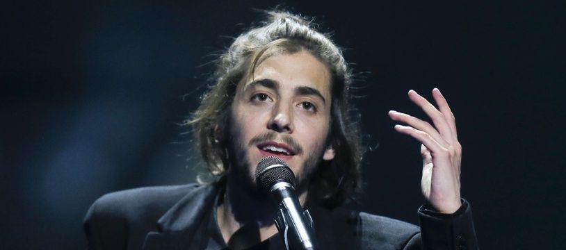 Le chanteur portugais Salvador Sobral, vainqueur de l'Eurovision 2017.